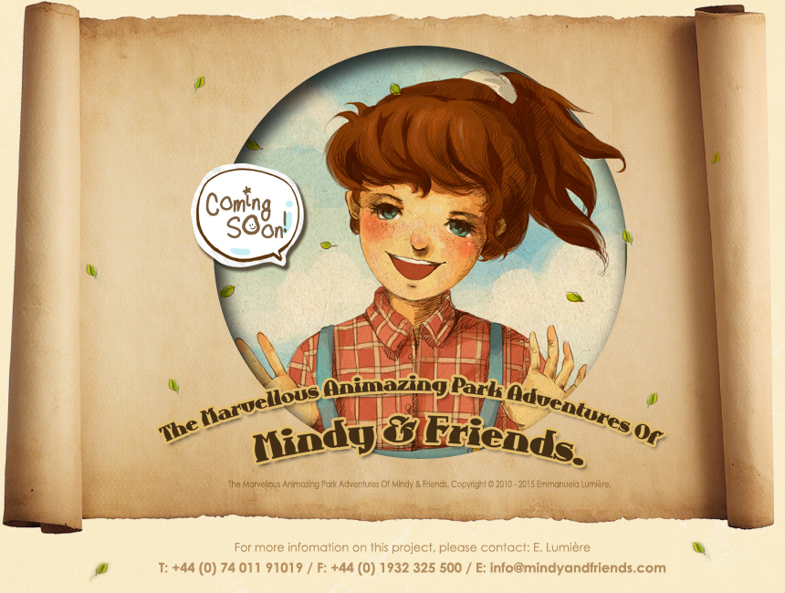 Welcome To The Marvellous Animazing Park Adventures Of Mindy & Friends ~ Coming Soon!